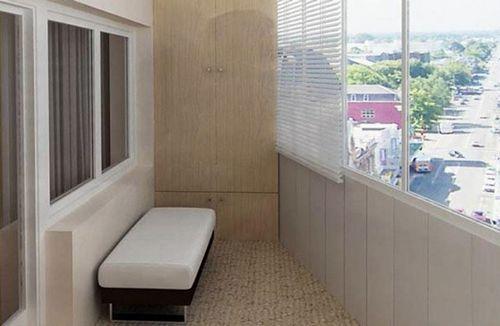 С чего начать отделку балкона.