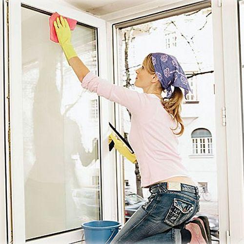 Как хорошо помыть окна без разводов в домашних условиях