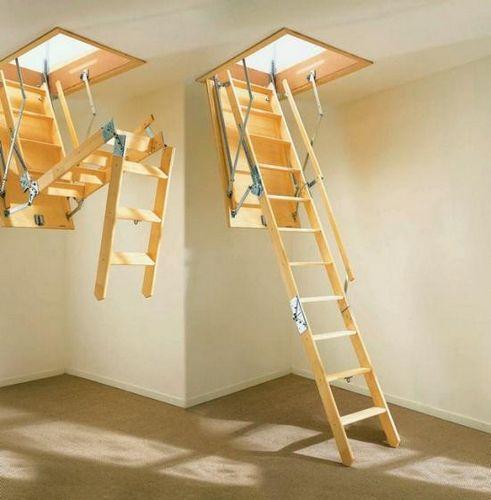 Чердачные лестницы трансформеры своими руками 25