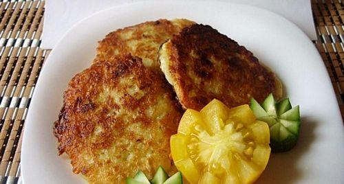 оладьи из кабачков с фаршем рецепт с фото пошагово