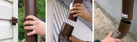 Водостоки своими руками из пластиковой трубы 708