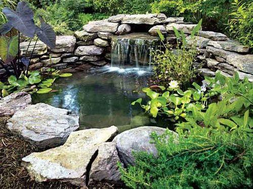 Пруд с водопадом своими руками пошаговая инструкция 543