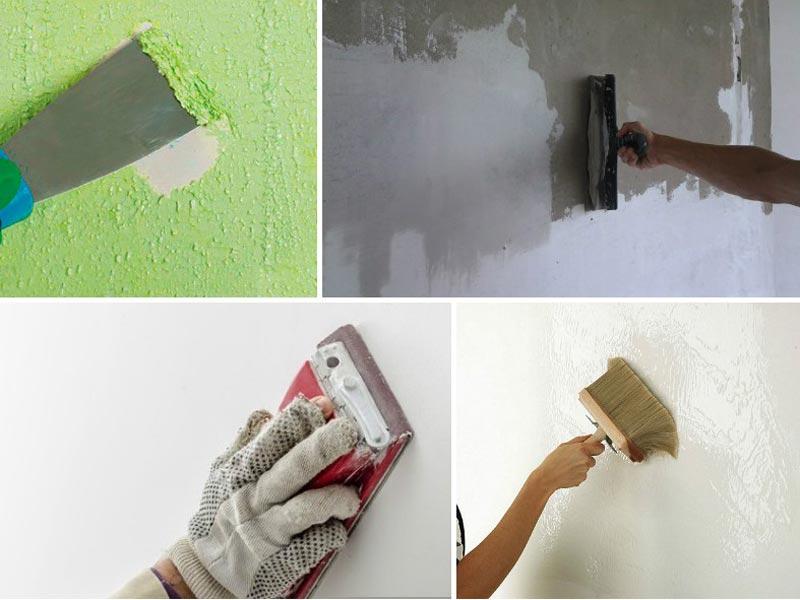 Декоративная штукатурка своими руками подготовка стен