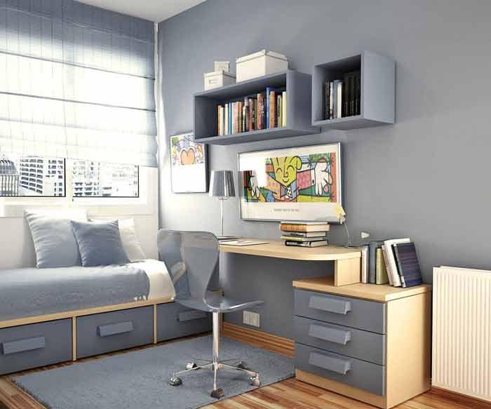 Комната для 2 подростков мальчиков дизайн 150