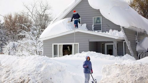Электролопата для уборка снега