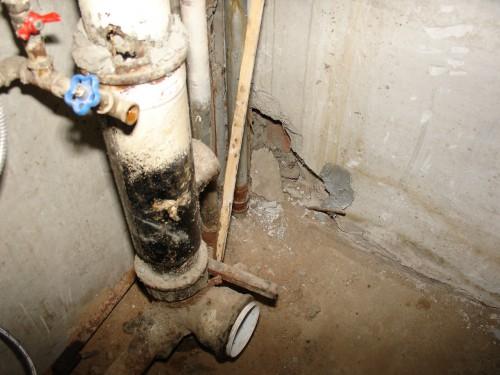 Демонтаж старых труб отопления цена