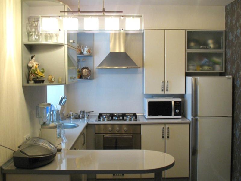 Как сделать угловую кухню в хрущевке своими руками фото