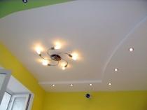 Отделка штукатуркой потолка своими руками под покраску: видео и фото инструкции, советы как очистить потолок от штукатурки, выбрать сетку и маяки