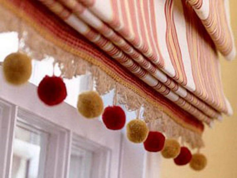 Римские шторы: как изготовить карниз, сшить шторы своими руками, видео