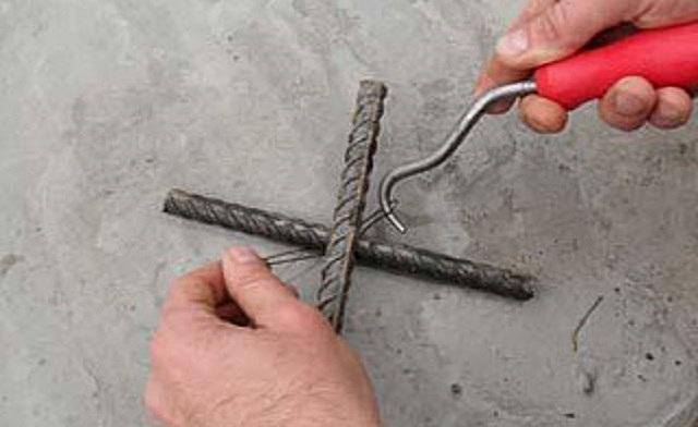 Как правильно вязать крючком арматуру видео